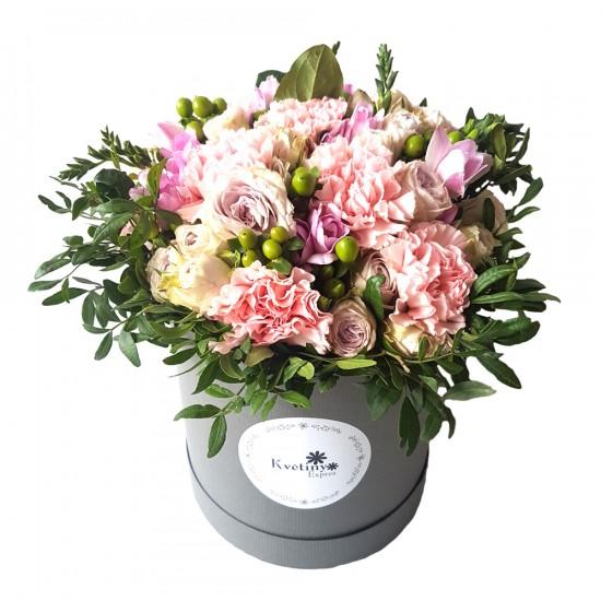 Květinový box Karafiát