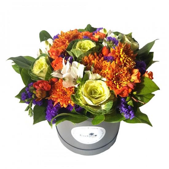 Květinový podzimní box