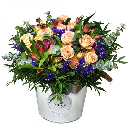 Květinový box  mix
