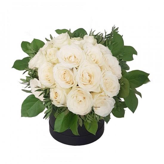Květinový box Black & White