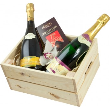 Wooden box Cremant