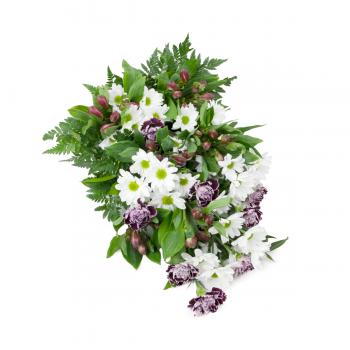 Smuteční kytice Karafiát