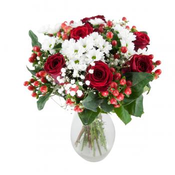 Růže v bílém hávu