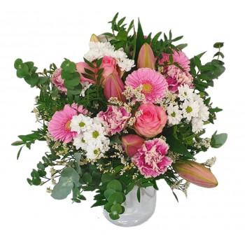 Marshmallow birthday bouquet