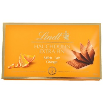 Čokoláda Lindt Thins orange