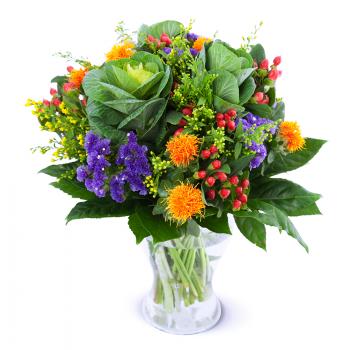 Špenátová kytice