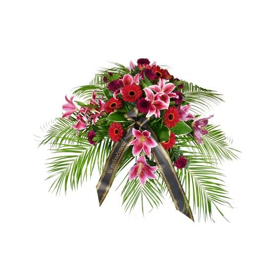 Smuteční květina Germínky a Lilie