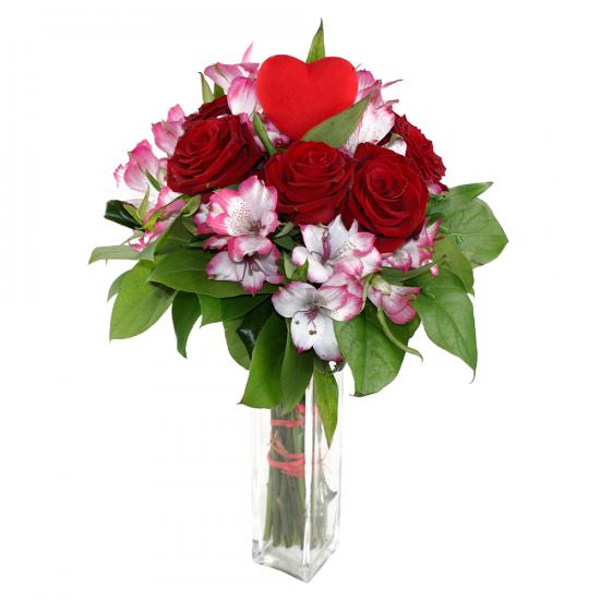Semišová růže