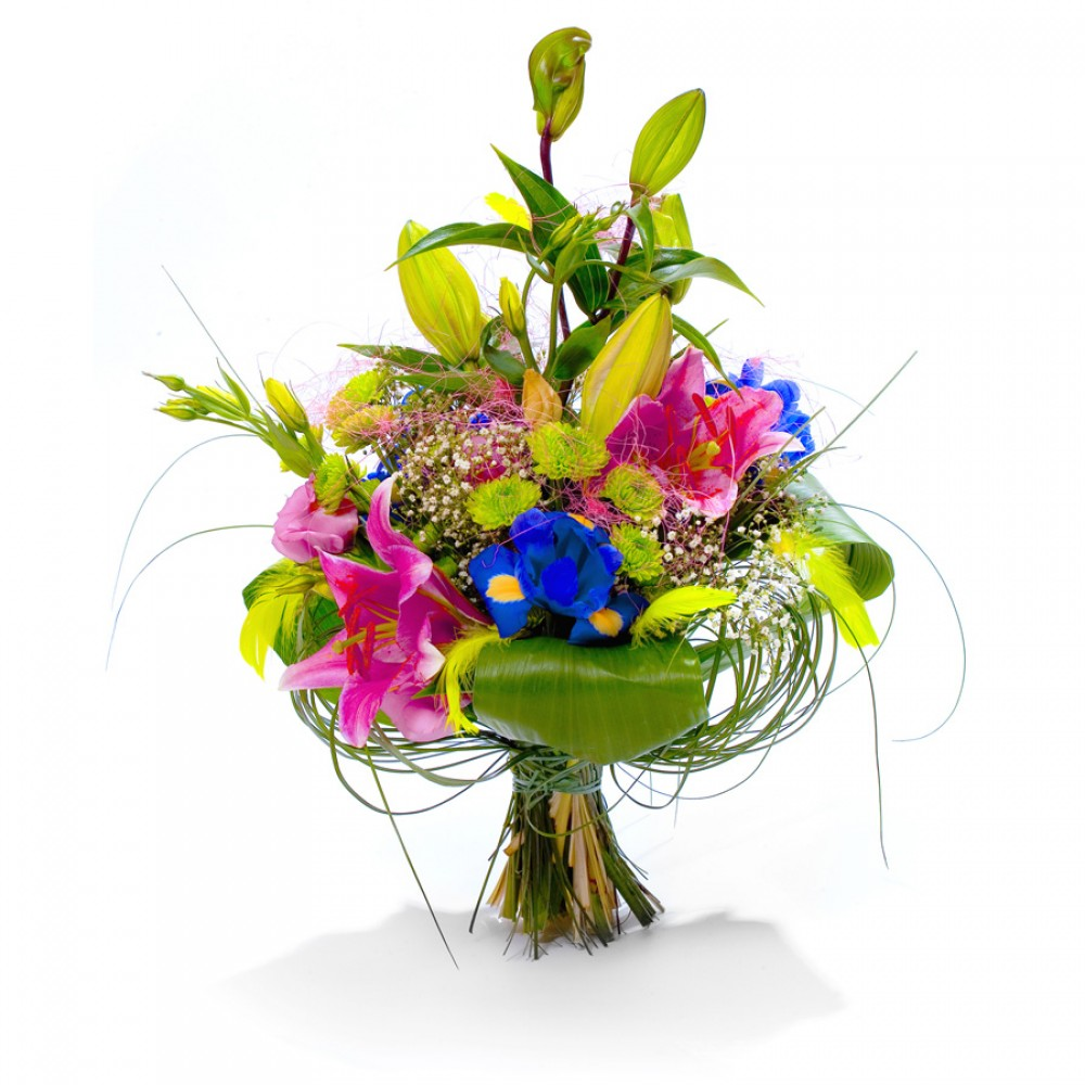 Flower bouquet thank you flower gift from lily and beautiful country flower bouquet thank you izmirmasajfo