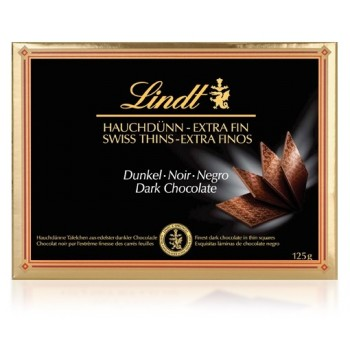 Lindt Chocolate Thins Negro