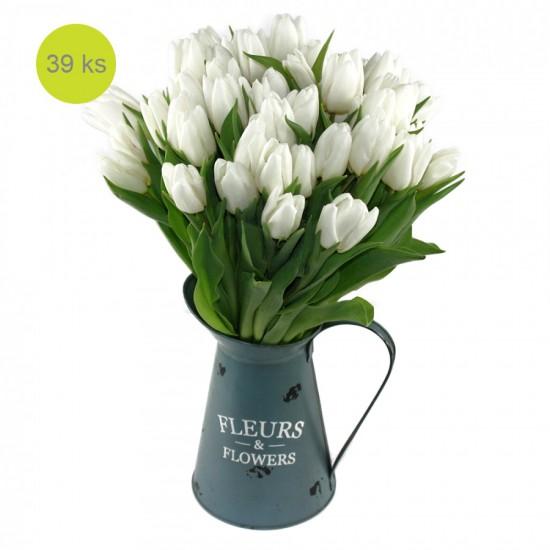 Tulipánové nebe (plechová nádoba v ceně