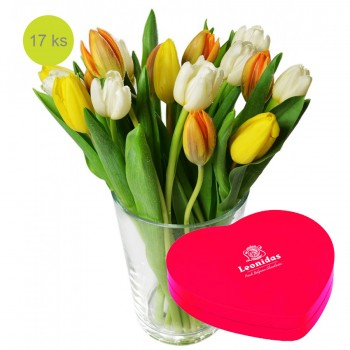 Tulipán a srdce