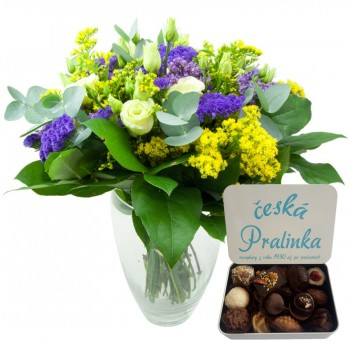 Farmer's bouquet with pralines