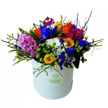Jarní květinový box