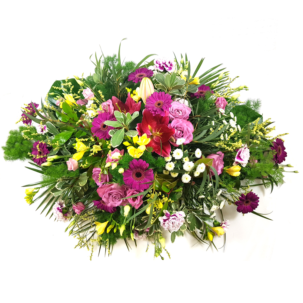 Funeral bouquet flower mix - Rozvoz květin do 90ti minut